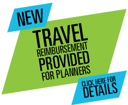 Travel Reimbursement Provided for Planners