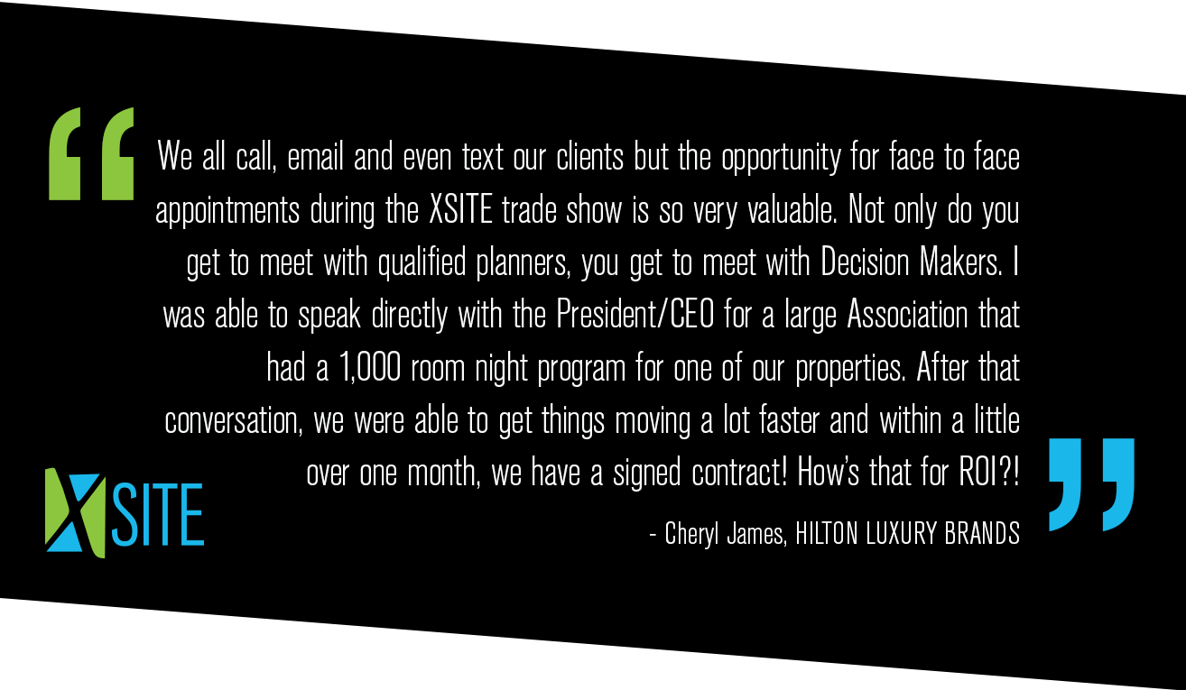 Testimonial from Hilton Luxury Brands